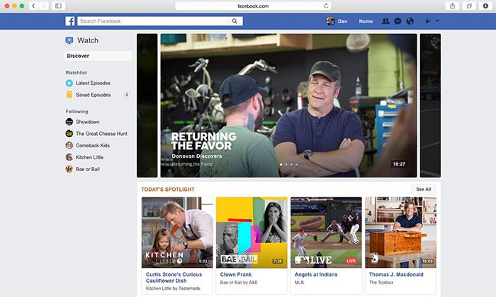 У Facebook появится свой YouTube