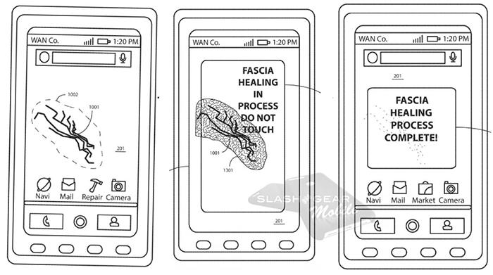 Motorola запатентовала смартфон, ремонтирующий сам себя