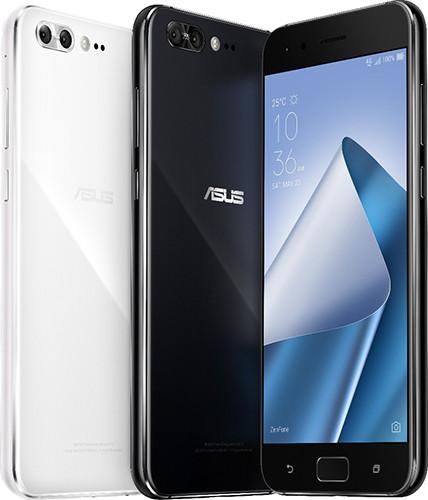 Представлены смартфоны ASUS Zen Fone 4 и 4 Pro в стеклянных корпусах и с двойными задними камерами