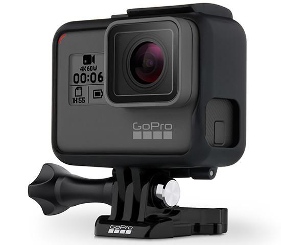 GoPro представила новейшую камеру Hero 6 Black