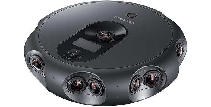 Samsung 360 Round: панорамная камера с 17 объективами