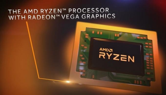 AMD представляет первые мобильные процессоры Ryzen