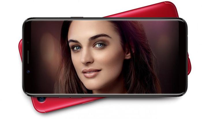 Oppo официально презентовала безрамочный смартфон F5