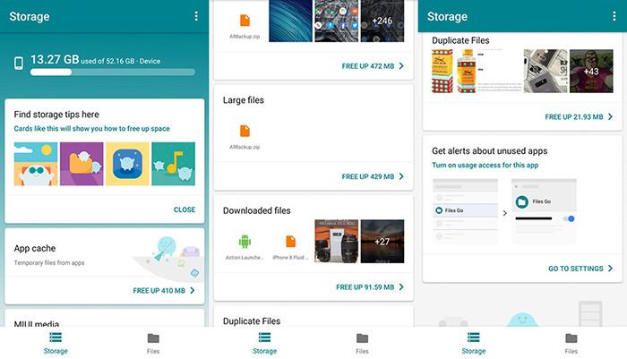 Google выпустила файловый менеджер для андроид