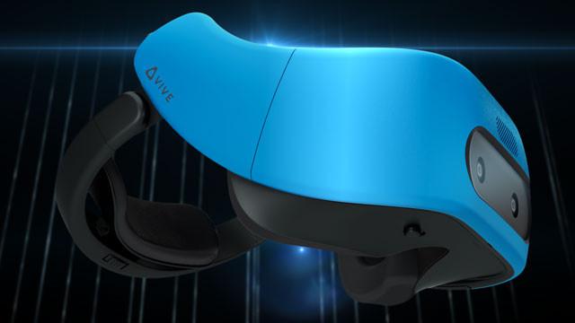 HTC представила 1-ый  автономный шлем виртуальной реальности