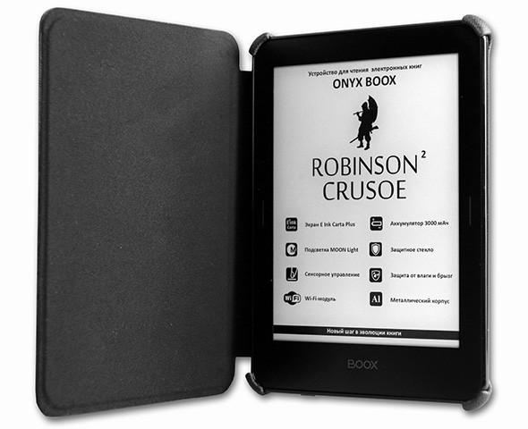 Электронной книжке Onyx Boox Robinson Crusoe 2 нипочем водные процедуры