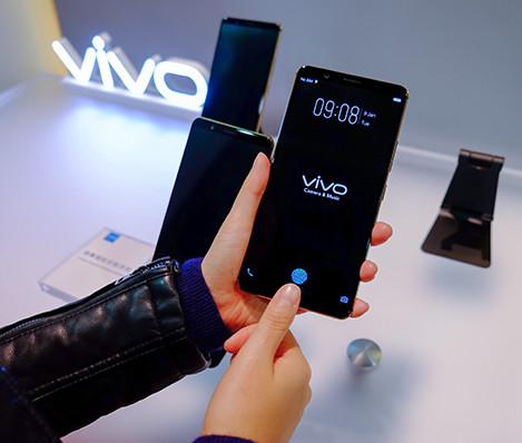 CES 2018. Vivo в очередной раз похвасталась смартфоном со сканером отпечатков пальцев в дисплее