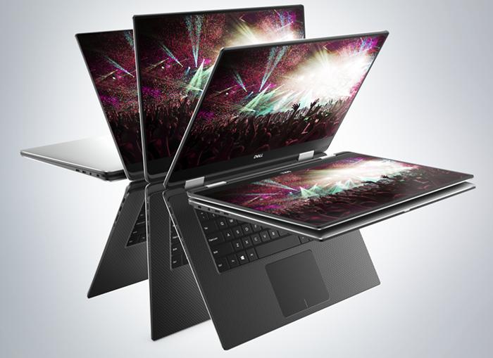 CES 2018. Ноутбук-трансформер Dell XPS 15 получил процессоры Intel с графикой AMD