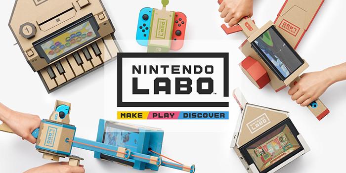 Nintendo занялась производством умных картонных конструкторов