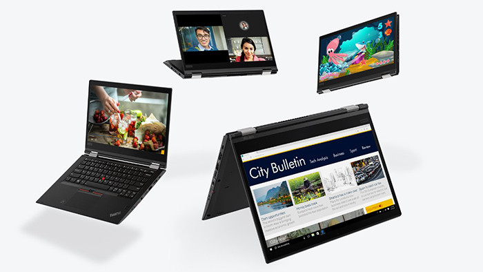 CES 2018. Новинки Lenovo: ноутбуки и мониторы ThinkPad плюс планшет Lenovo Tablet 10