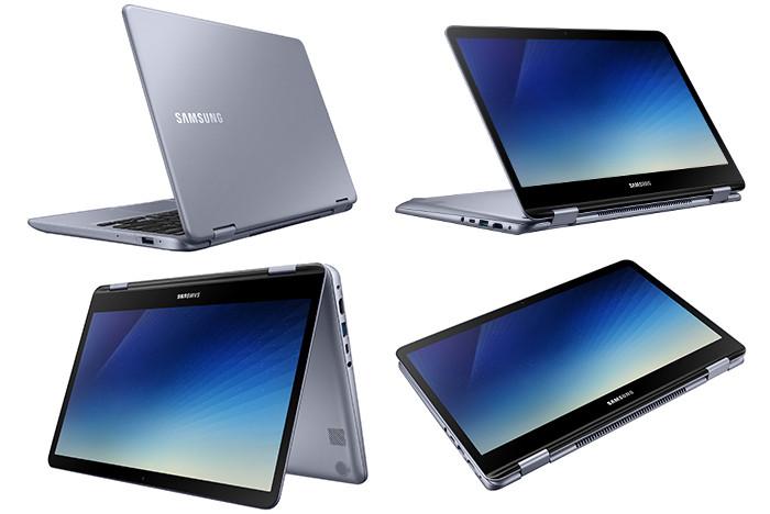 Самсунг представила ноутбук с дисплеем, который можно развернуть на360 градусов