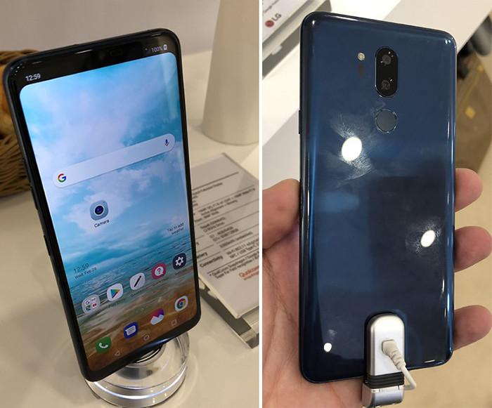 MWC 2018. LG показала флагманский смартфон G7. Но не всем и непонятно зачем
