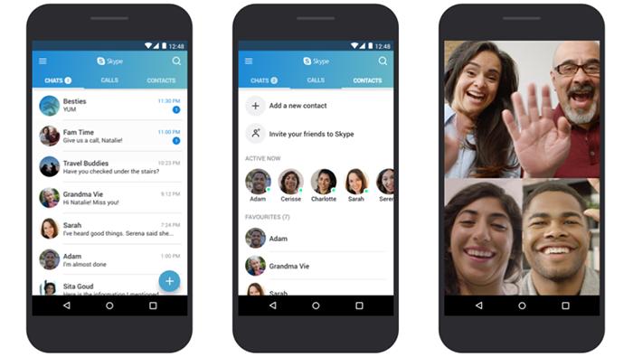 Microsoft оптимизировала Skype для слабых телефонов