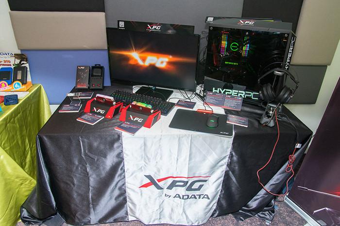 ADATA анонсировала новые SSD, память и аудиоаксессуары для геймеров