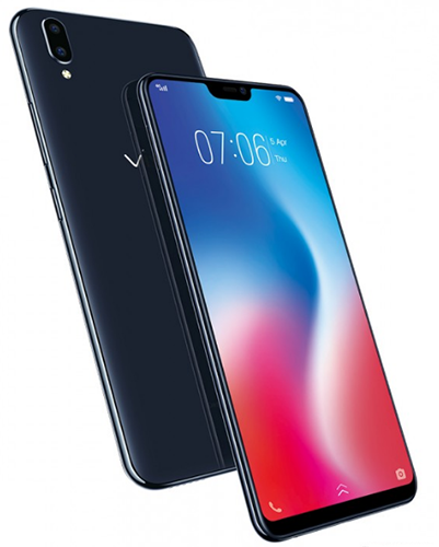 Безрамочный смартфон Vivo V9 встиле iPhone Xпредставил официально