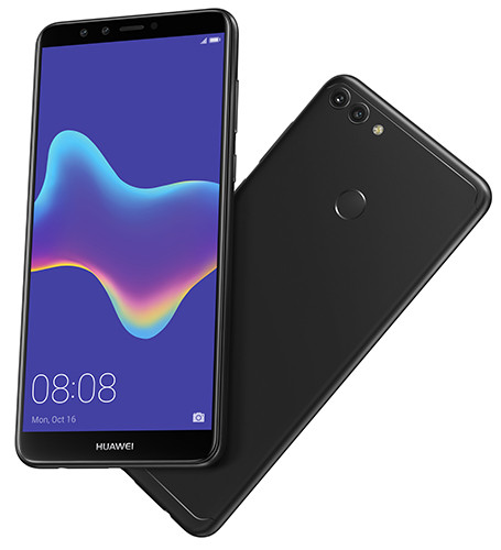 Смартфон Huawei Y9 2018 вышел на русский рынок