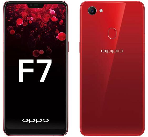 Начинаются российские продажи смартфона Oppo F7 с 25-мегапиксельной фронтальной камерой и искусственным интеллектом