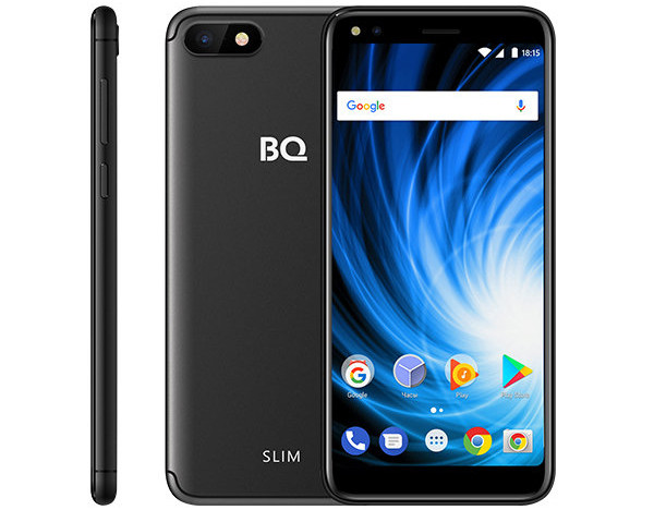BQвыпустил новый безрамочный смартфон BQ-5701L Slim