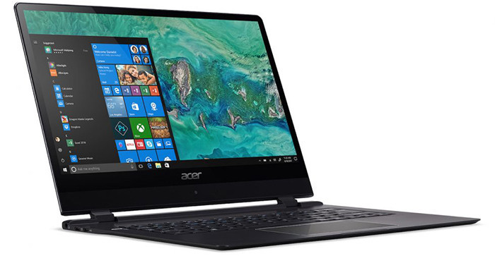 Acer запустил продажи самого тонкого ноутбука Swift 7 в РФ