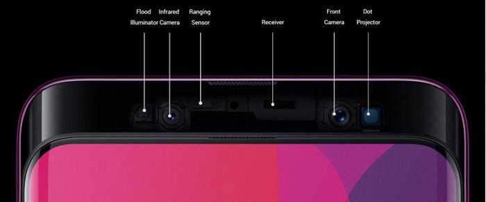 Смартфон Oppo Find X получил уникальный раздвижной корпус, Snapdragon 845 и 3D-систему распознавания лиц
