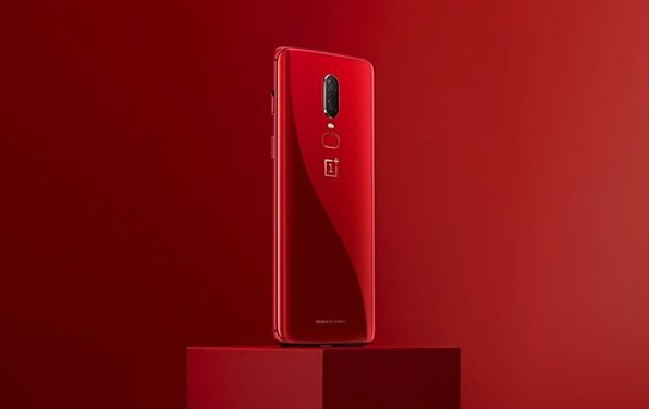 One Plus 6 red