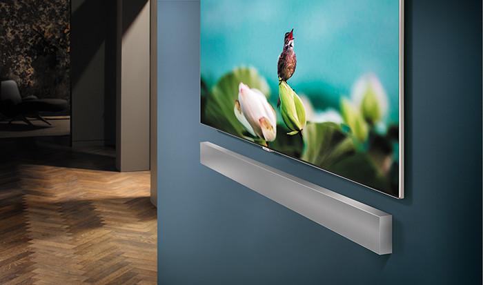 Саундбар Samsung NW700 умеет подавлять искажения при воспроизведении звука