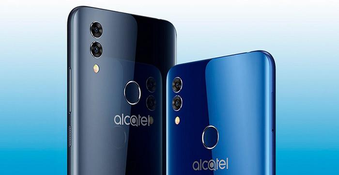 В России представлен недорогой смартфон Alcatel 5V с монобровью, разблокировкой по лицу и батареей на 4000 мАч