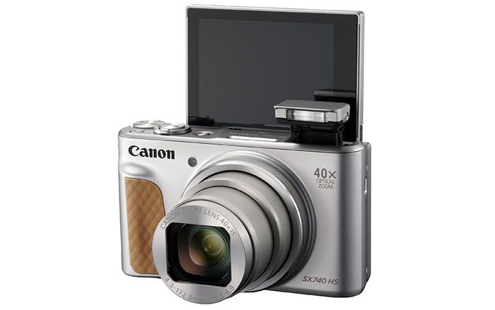 Canon PowerShot SX740 HSполучила объектив с40-кратным зумом
