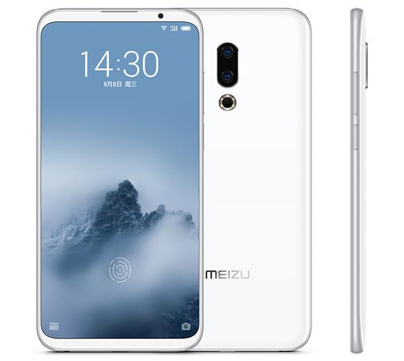 Представлены мобильные телефоны Meizu 16 и16 Plus