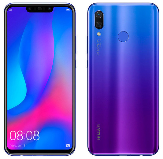 Названа цена нановый смартфон Huawei Nova 3 для русского рынка