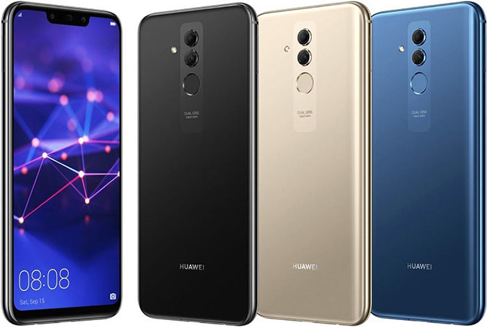 Huawei привезла в Российскую Федерацию стеклянный смартфон Mate 20 Lite счетырьмя камерами