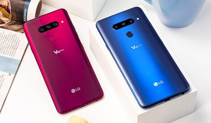 Флагманский смартфон LG V40 ThinQ получил пять камер и неубиваемый пластиковый OLED-экран