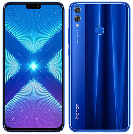 Названа российская цена стеклянного смартфона Honor 8X с 6,5-дюймовым экраном и NFC