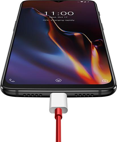 Представлен смартфон OnePlus 6T с каплевидной монобровью и сканером отпечатков в экране