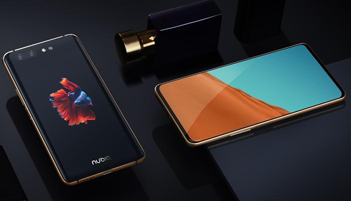 ZTE показала крайне необычный смартфон Nubia X с двумя экранами и двумя сканерами отпечатков пальцев