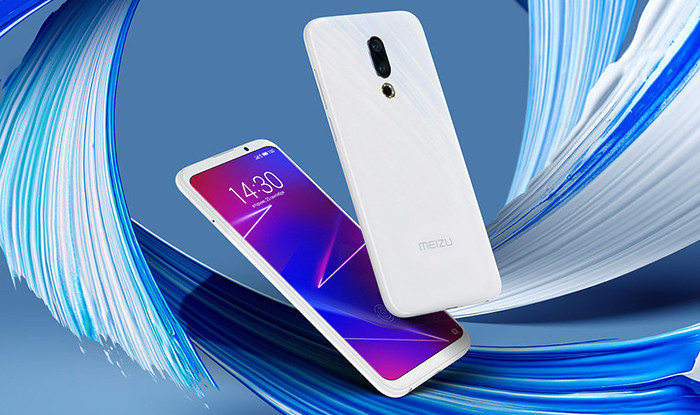 Названа российская цена смартфона Meizu 16 со сканером отпечатков пальцев в AMOLED-экране