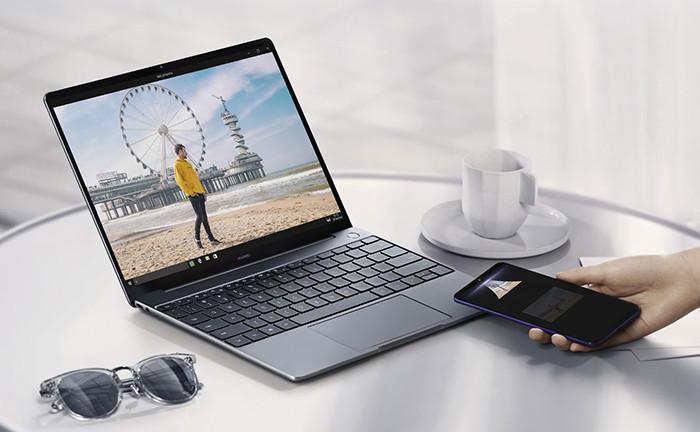 Ноутбук Huawei MateBook 13 получил NFC-чип и опцию сверхбыстрого обмена данными со смартфоном