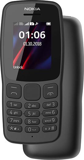 Представлен дешевый кнопочный телефон Nokia 106 с легендарным дизайном