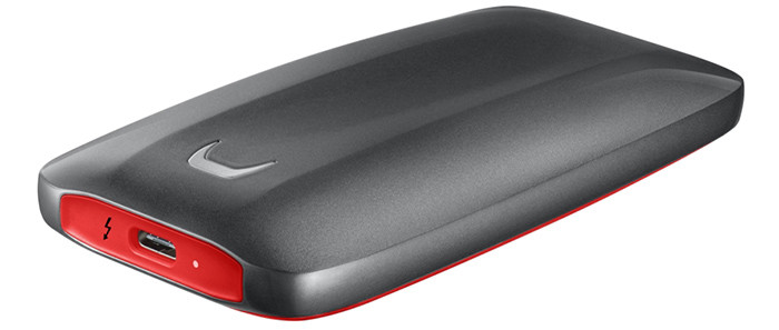 В Россию приехали сверхбыстрые удароустойчивые накопители Samsung Portable SSD Х5 с поддержкой Thunderbolt 3