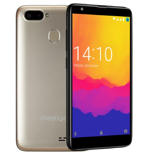Недорогой смартфон Prestigio Muze G5 LTE получил сдвоенную камеру и сканер отпечатков