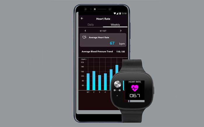 В России начинаются продажи смарт-часов ASUS VivoWatch BP с батареей на месяц работы и функцией контроля артериального давления