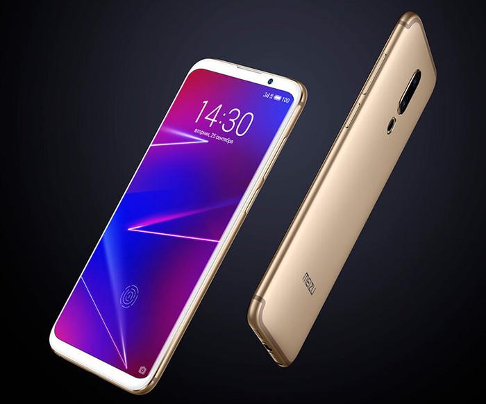 В России начались продажи смартфона Meizu 16 со сканером отпечатков пальцев с AMOLED-экране