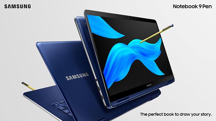 Ноутбуки-трансформеры Samsung Notebook 9 Pen (2019) работают до 15 часов и поддерживают перо S Pen