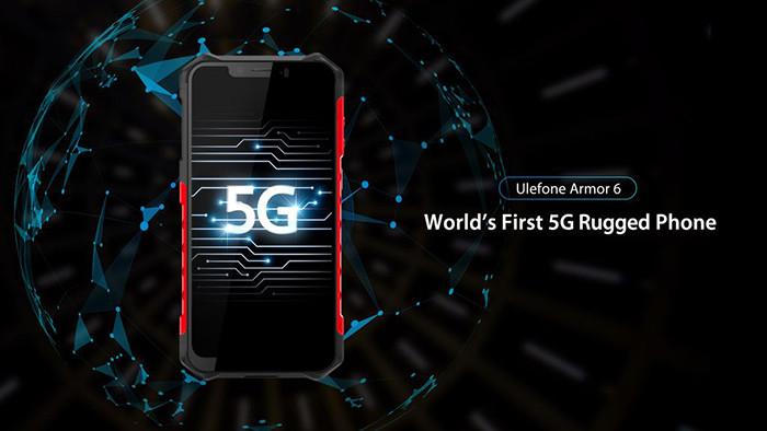 Анонсирован первый в мире защищенный смартфон с поддержкой 5G-сетей