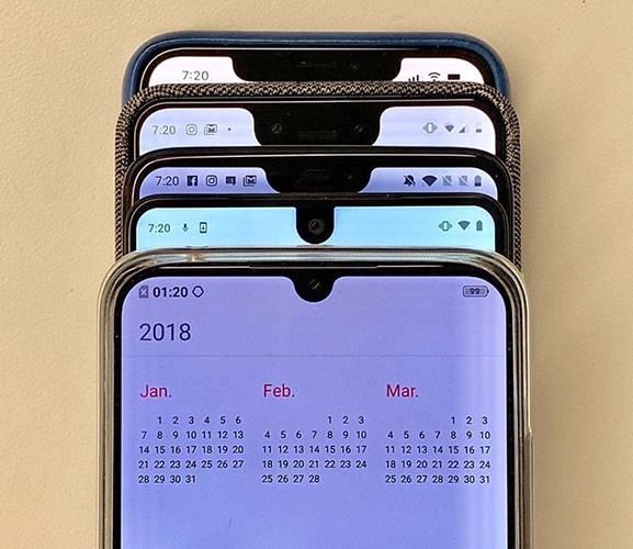 Смартфоны-2018: 5 главных трендов года и 5 главных разочарований