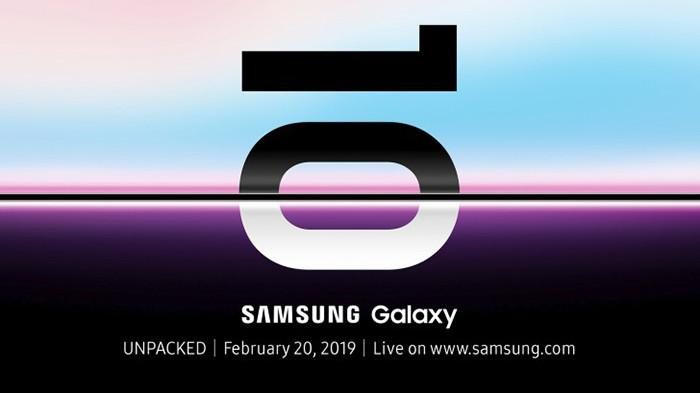 Samsung официально огласила дату презентации Galaxy S10