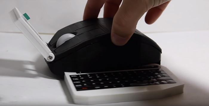 Компьютерную мышку превратили в ноутбук и запустили на ней Minecraft
