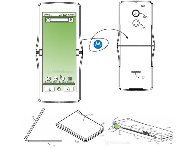 Motorola возродит культовую раскладушку RAZR и оснастит ее гибким OLED-экраном