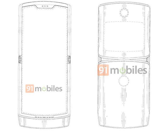 Появилось первое изображение раскладушки Motorola RAZR 2019 года с гибким OLED-экраном
