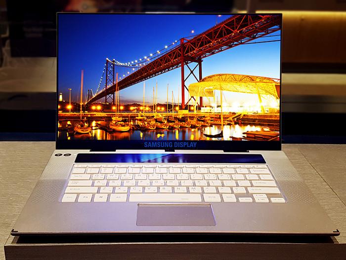 Samsung раскрыла подобности о первом в мире 15,6-дюймовом OLED-экране формата 4K для ноутбуков